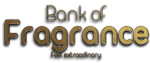 Bank of fragrance logo